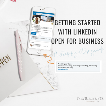 LinkedIn Open For Business Blog