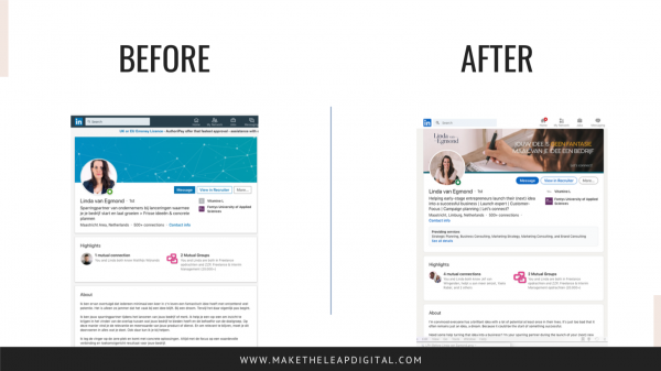 LinkedIn Profile Make-over