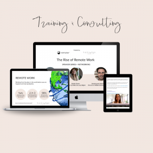 remote work consulting and training