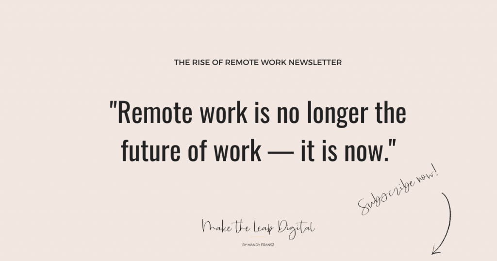 rise of remote work