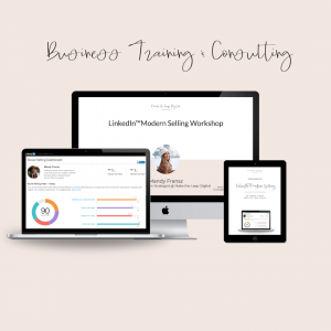 linkedin business training and consulting